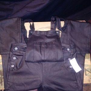 SNEEK PEEK overalls  large .N.W.T